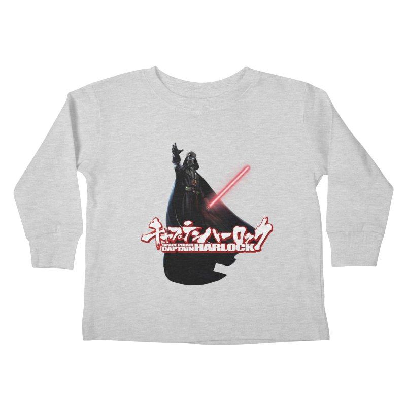 Capitan Vader Kids Toddler Longsleeve T-Shirt by Frankie hi-nrg mc & le magliette