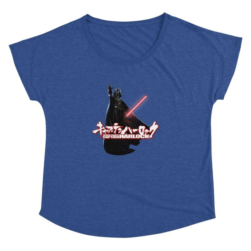 Capitan Vader Women's Dolman Scoop Neck by Frankie hi-nrg mc & le magliette