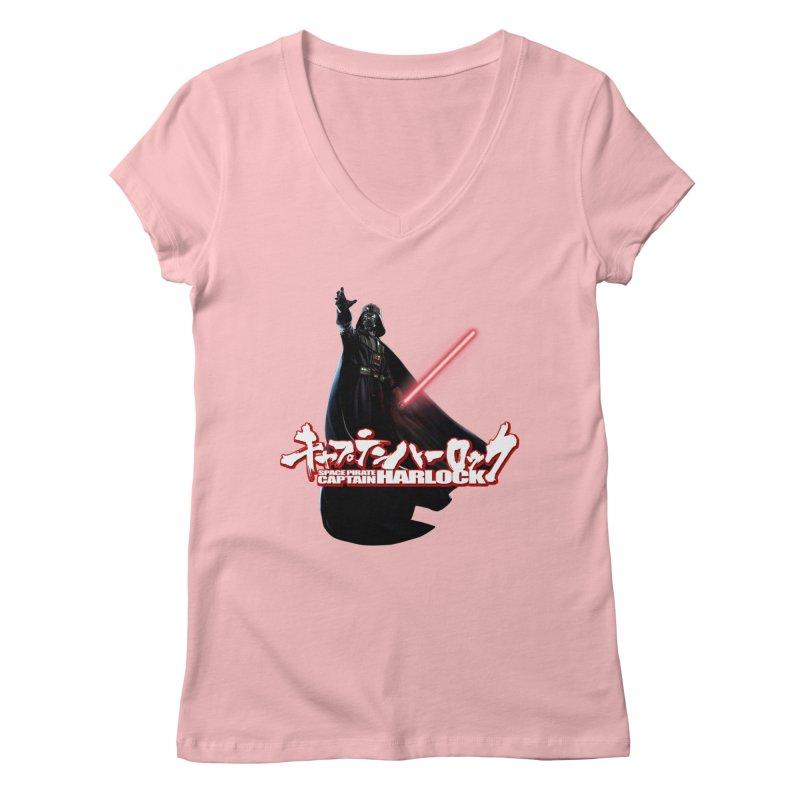 Capitan Vader Women's Regular V-Neck by Frankie hi-nrg mc & le magliette