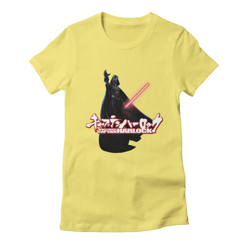 Capitan Vader Women's Fitted T-Shirt by Frankie hi-nrg mc & le magliette