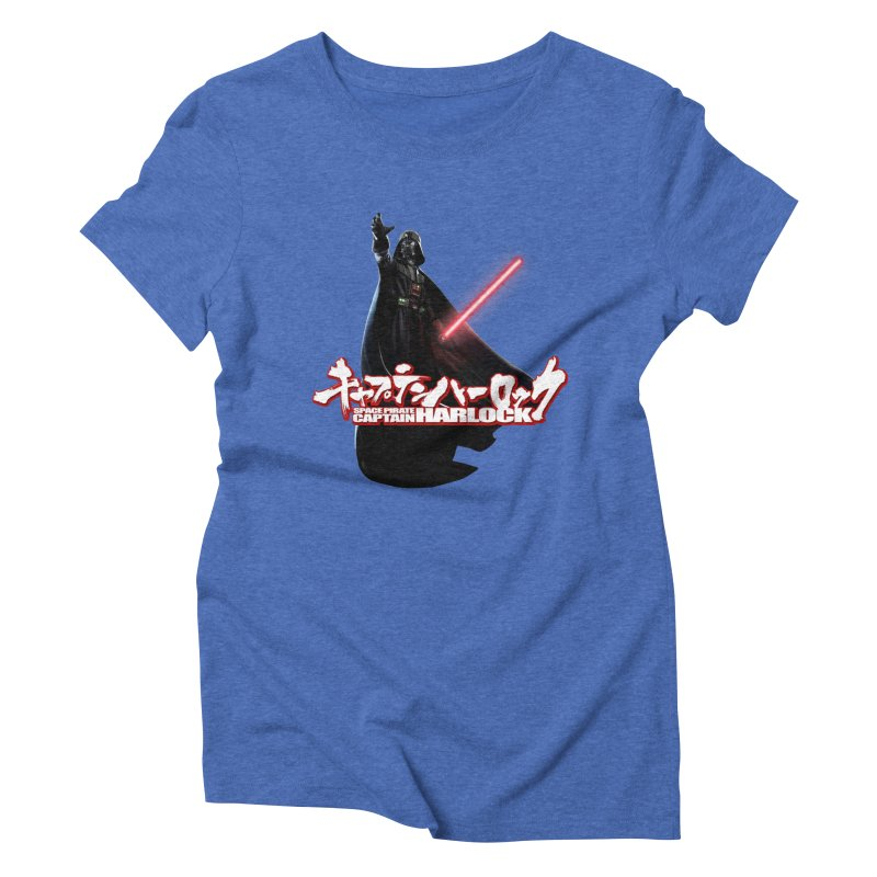 Capitan Vader Women's Triblend T-Shirt by Frankie hi-nrg mc & le magliette