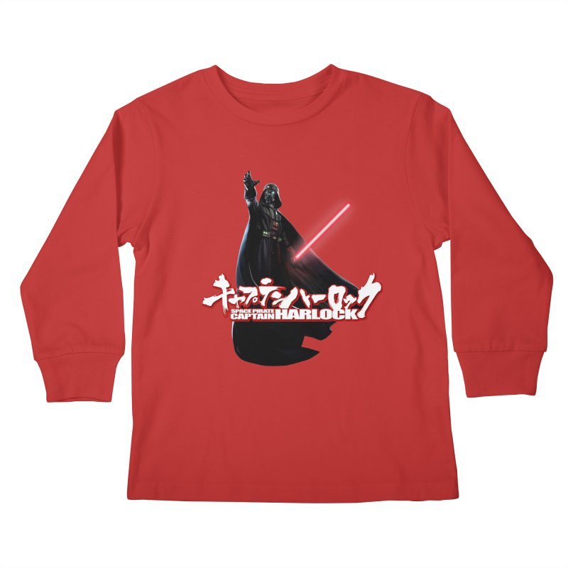 Capitan Vader Kids Longsleeve T-Shirt by Frankie hi-nrg mc & le magliette