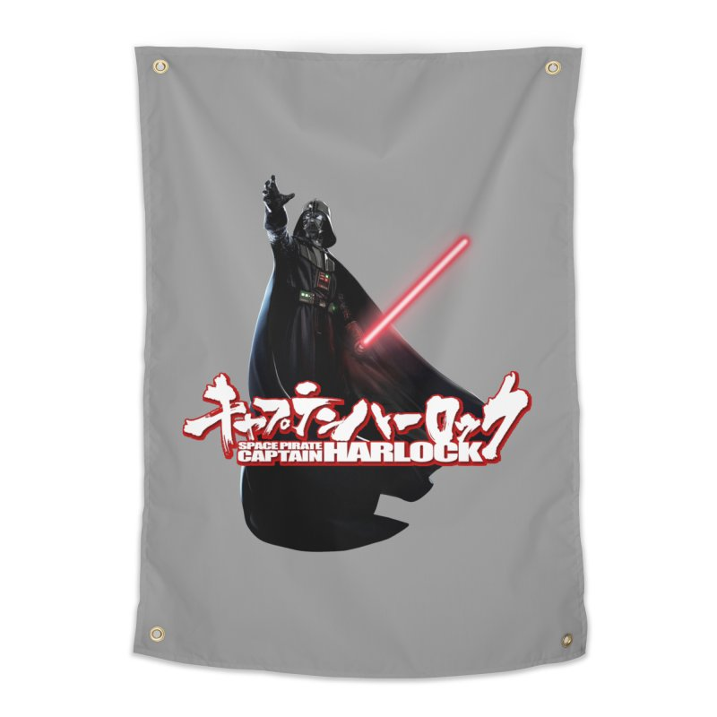 Capitan Vader Home Tapestry by Frankie hi-nrg mc & le magliette