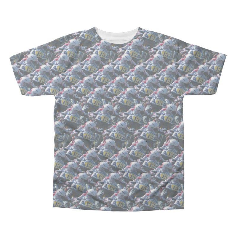 Frenati Men's Triblend All Over Print by Frankie hi-nrg mc & le magliette