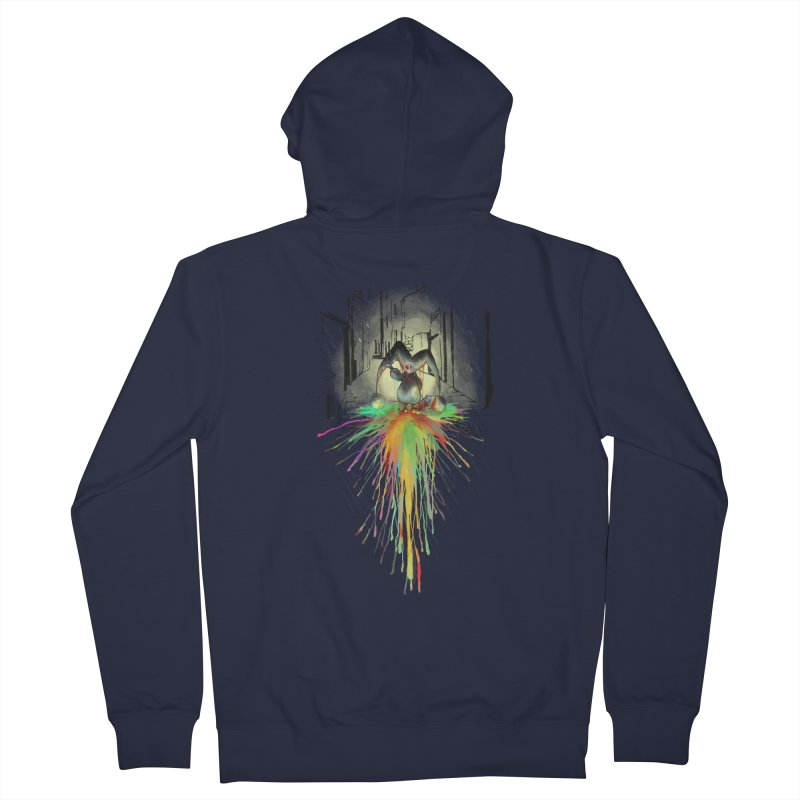 Sad Joker. Men's Zip-Up Hoody by franklymonkey's Artist Shop