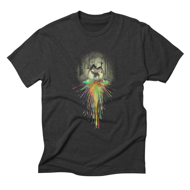 Sad Joker. Men's Triblend T-shirt by franklymonkey's Artist Shop