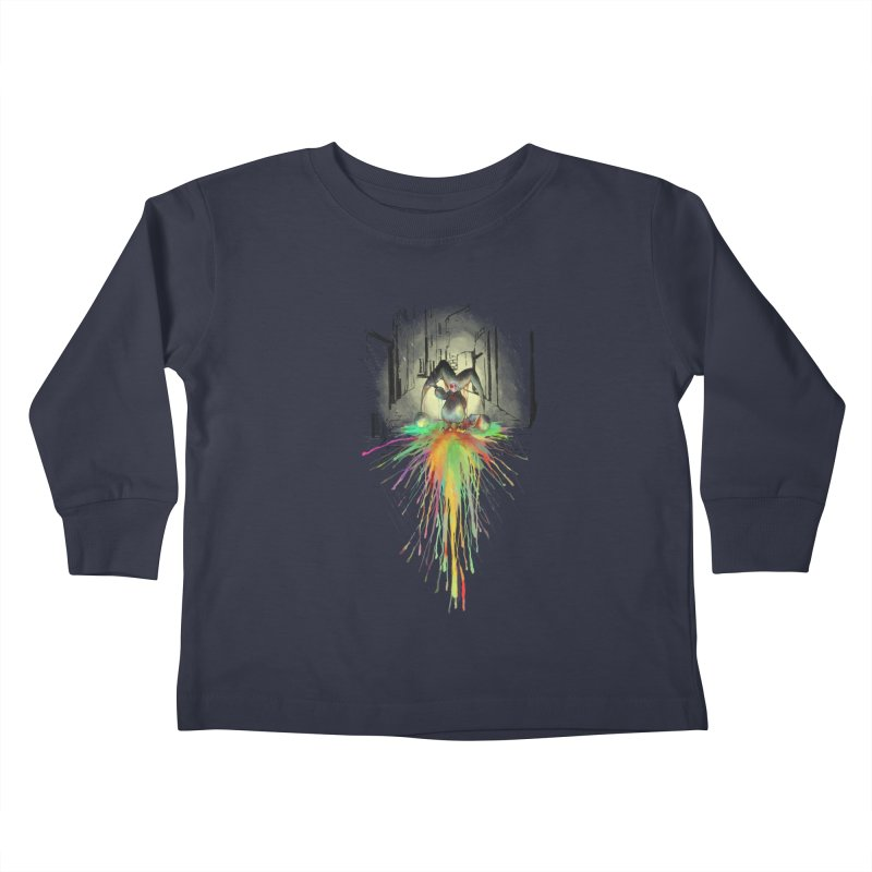Sad Joker. Kids Toddler Longsleeve T-Shirt by franklymonkey's Artist Shop