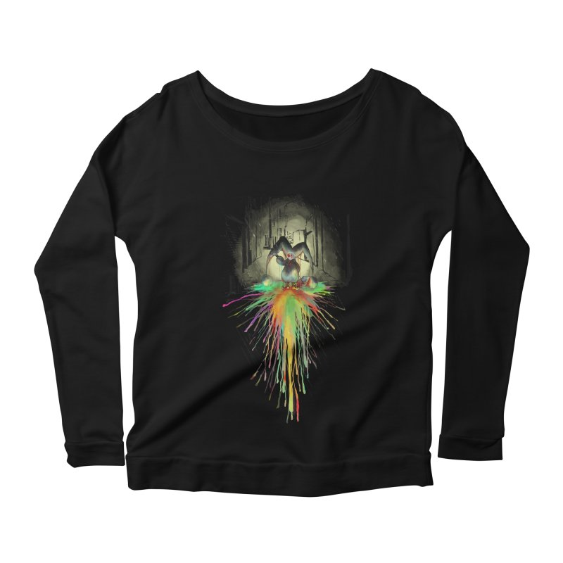 Sad Joker. Women's Longsleeve Scoopneck  by franklymonkey's Artist Shop