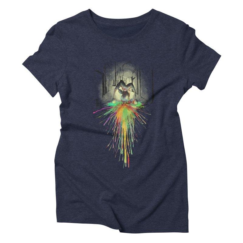 Sad Joker. Women's Triblend T-Shirt by franklymonkey's Artist Shop