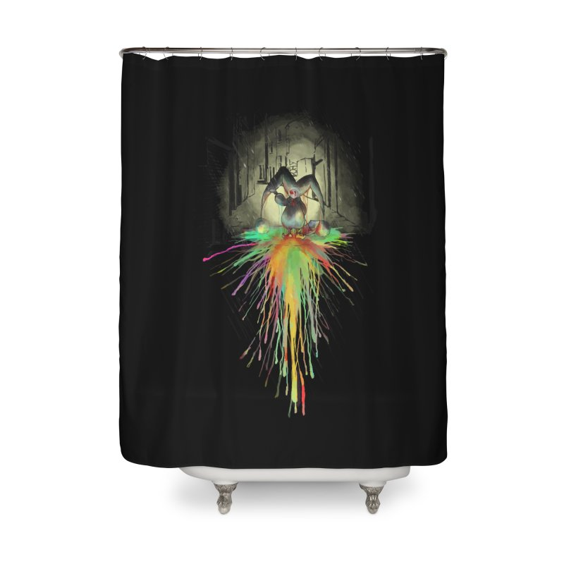 Sad Joker. Home Shower Curtain by franklymonkey's Artist Shop