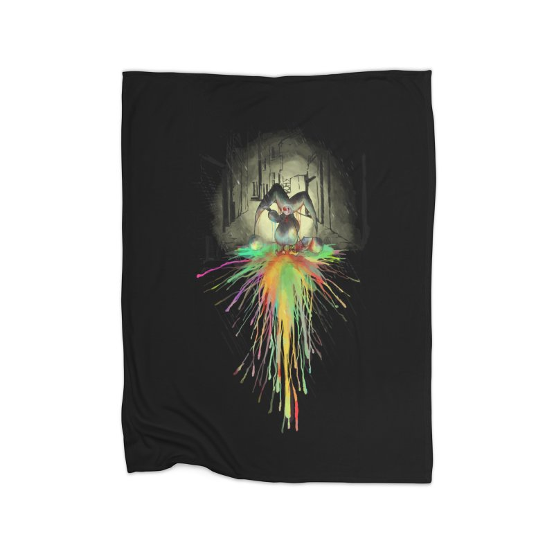 Sad Joker. Home Blanket by franklymonkey's Artist Shop