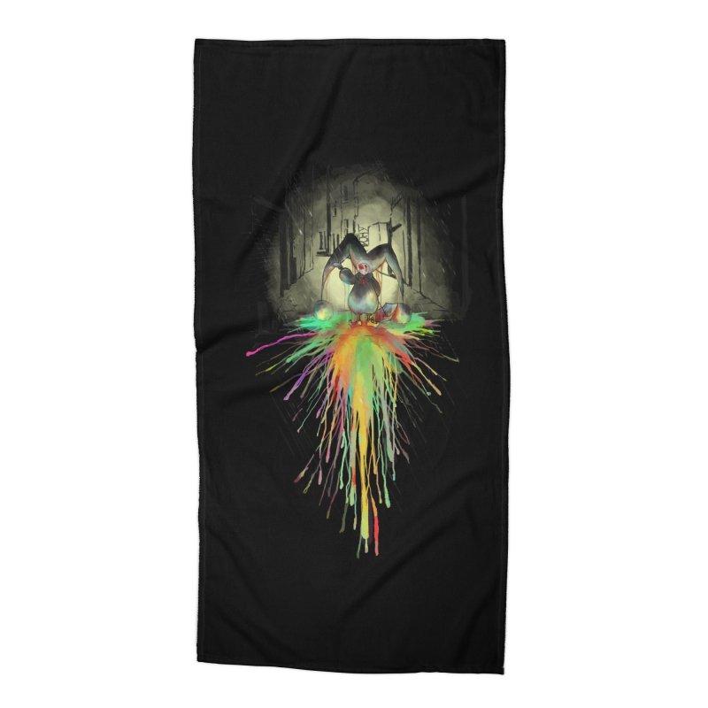 Sad Joker. Accessories Beach Towel by franklymonkey's Artist Shop