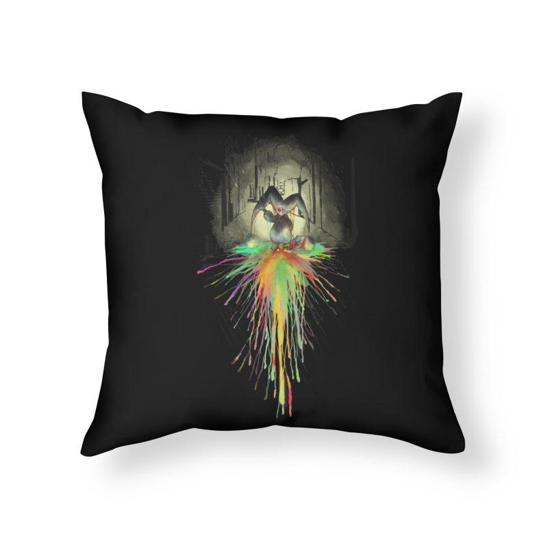 Sad Joker. Home Throw Pillow by franklymonkey's Artist Shop