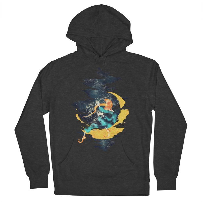Moon Women's French Terry Pullover Hoody by franklymonkey's Artist Shop