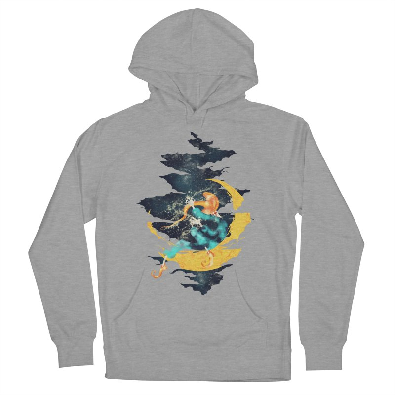 Moon Men's French Terry Pullover Hoody by franklymonkey's Artist Shop