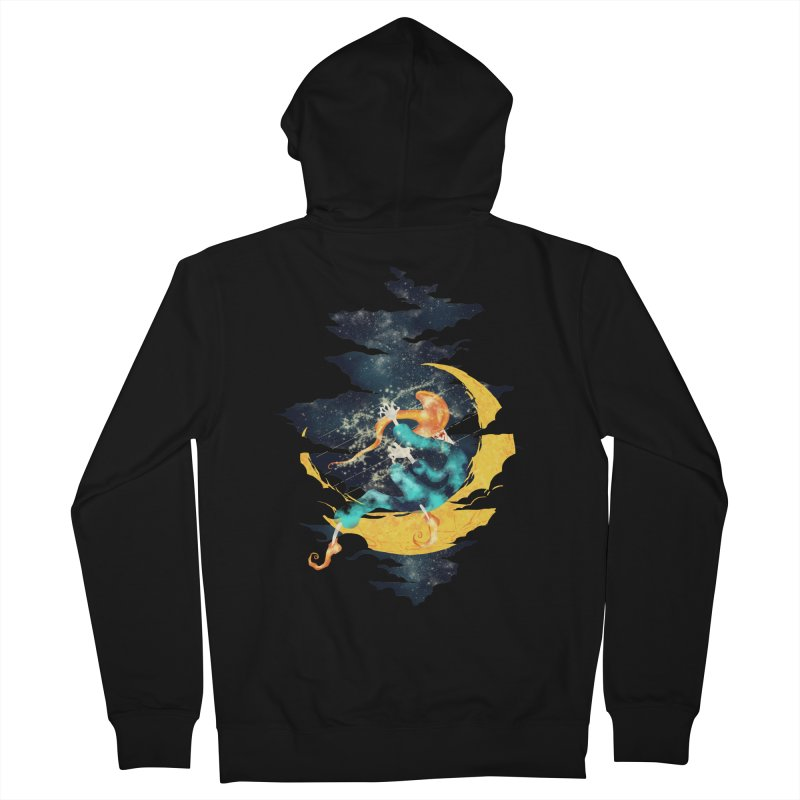 Moon Women's Zip-Up Hoody by franklymonkey's Artist Shop