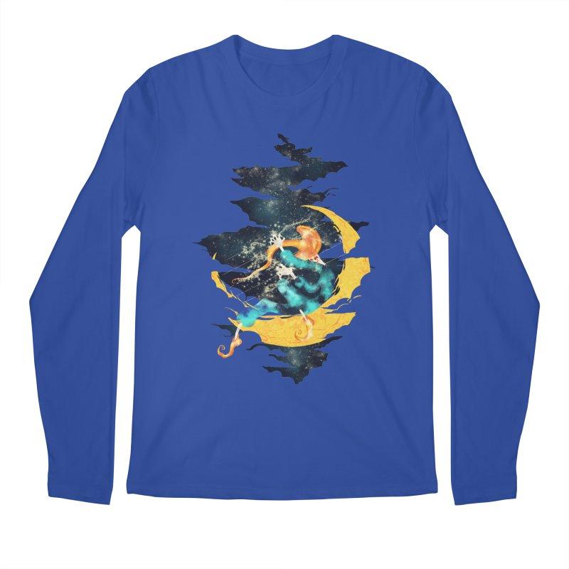 Moon Men's Longsleeve T-Shirt by franklymonkey's Artist Shop