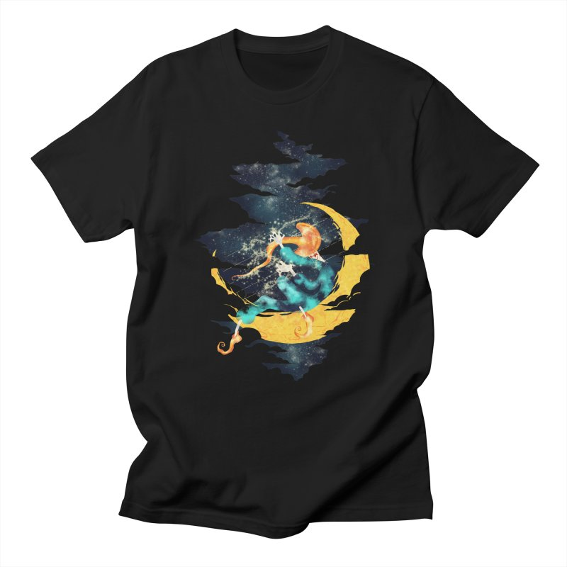 Moon Men's T-shirt by franklymonkey's Artist Shop