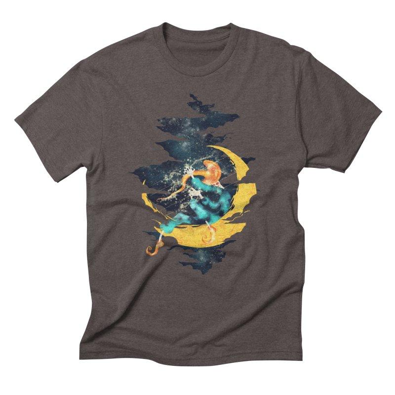 Moon Men's Triblend T-shirt by franklymonkey's Artist Shop
