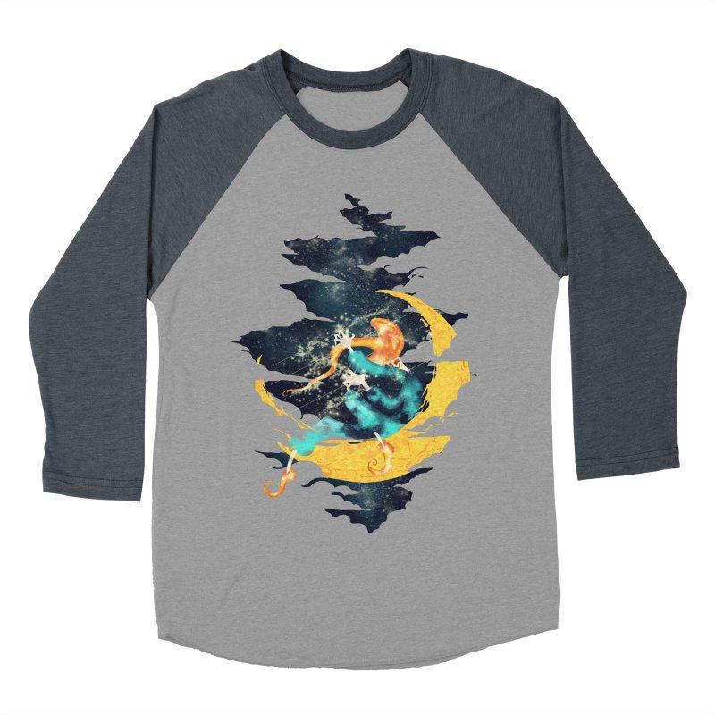 Moon Men's Baseball Triblend T-Shirt by franklymonkey's Artist Shop