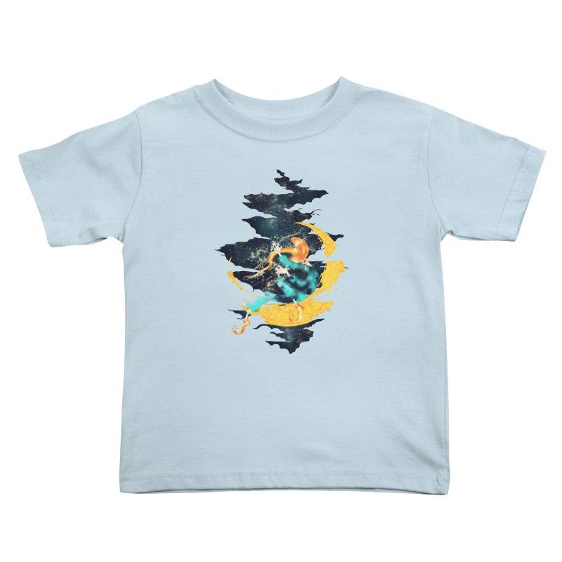 Moon Kids Toddler T-Shirt by franklymonkey's Artist Shop