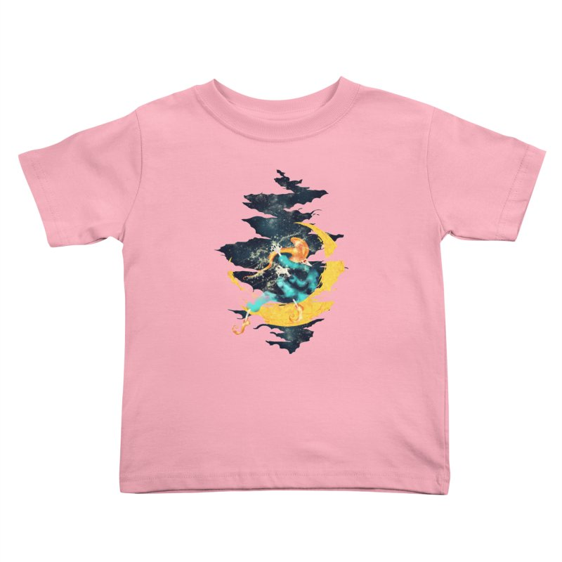 Moon Kids Toddler T-Shirt by franklymonkey's Artist Shop