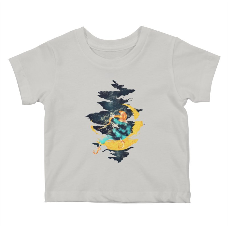 Moon Kids Baby T-Shirt by franklymonkey's Artist Shop