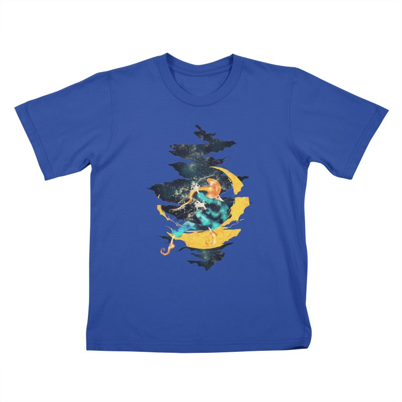 Moon Kids T-Shirt by franklymonkey's Artist Shop