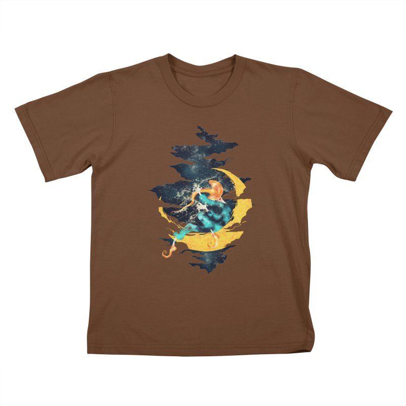 Moon Kids T-Shirt by franklymonkey's Artist Shop