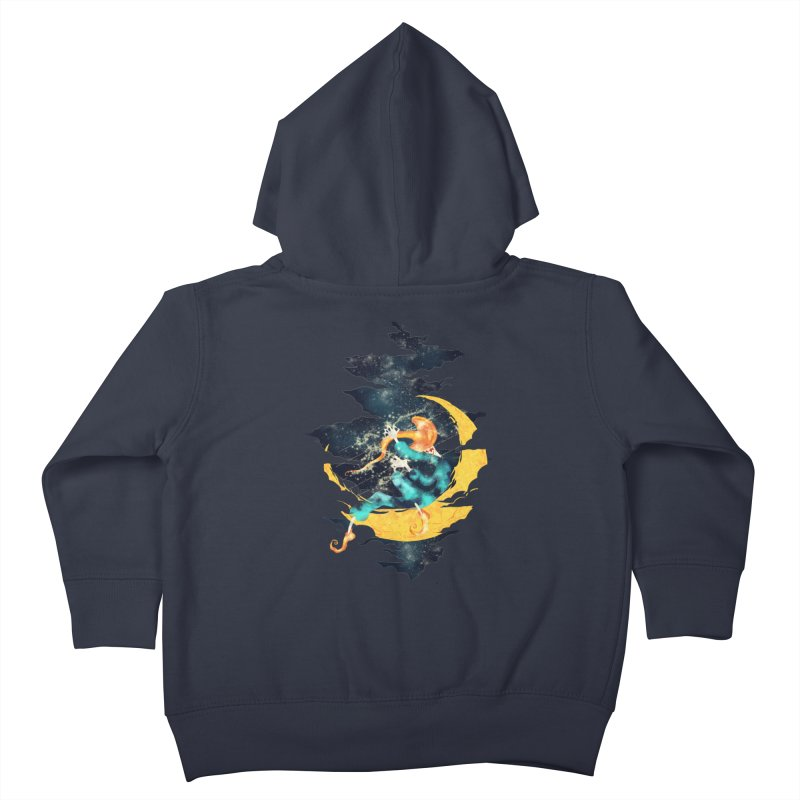 Moon Kids Toddler Zip-Up Hoody by franklymonkey's Artist Shop