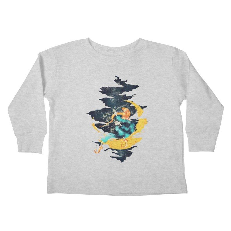 Moon Kids Toddler Longsleeve T-Shirt by franklymonkey's Artist Shop
