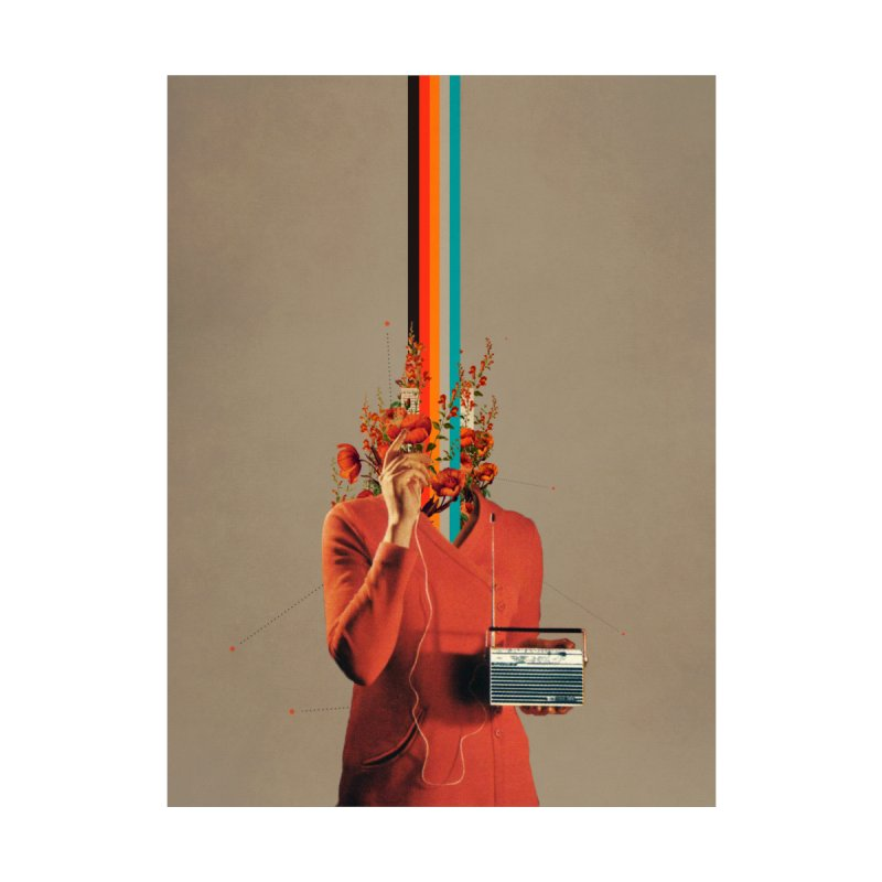 Musicolor by Frank Moth Collages