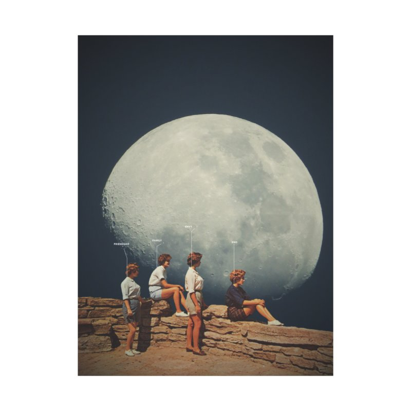 FriendsNotFriends by Frank Moth Collages
