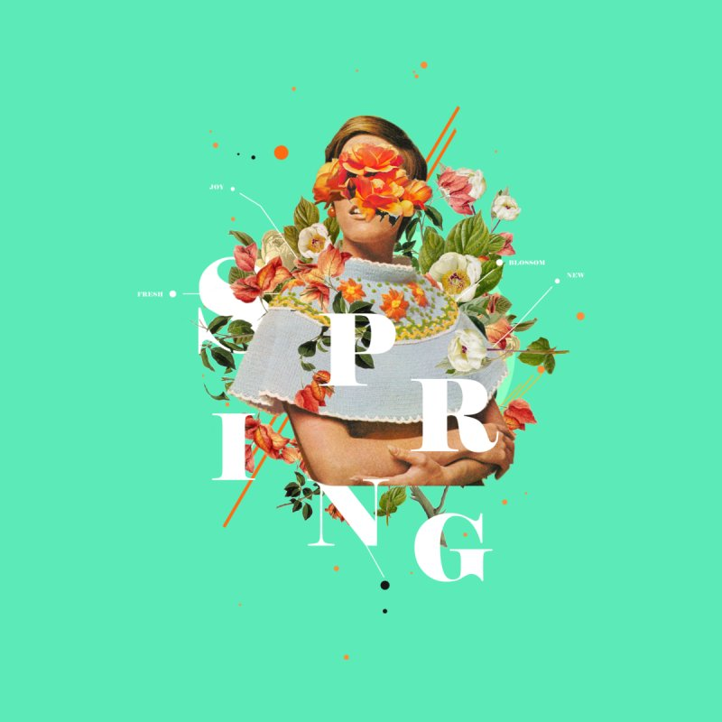 Spring by Frank Moth Collages