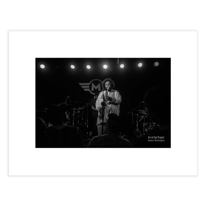 Kamasi Washington at Art of Cool Festival Home Fine Art Print by Frank and Elizabeth Myers Photograpy