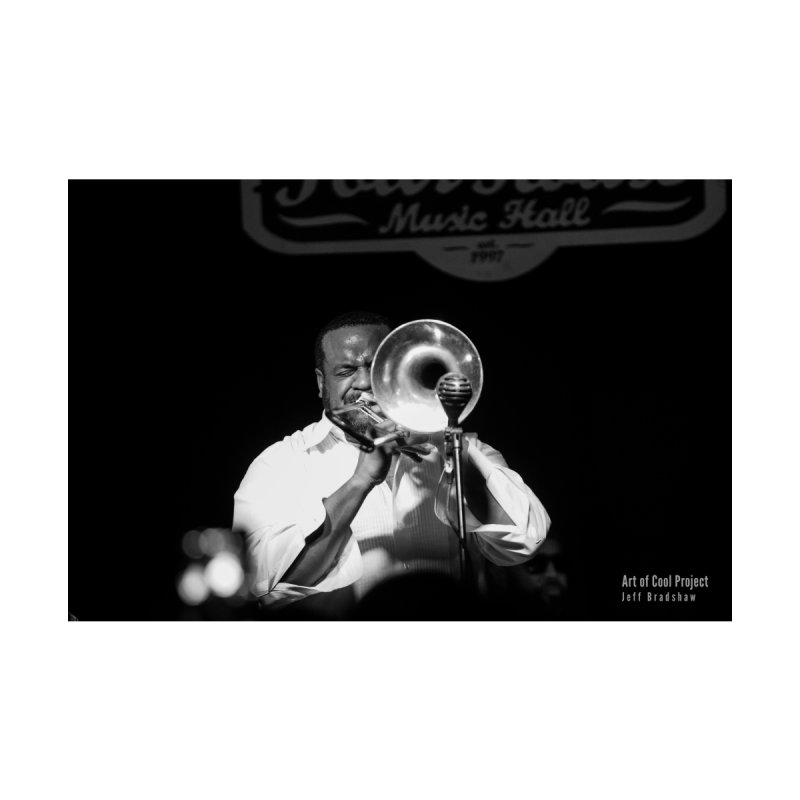 Jeff Bradshaw at the Art of Cool Project Home Fine Art Print by Frank and Elizabeth Myers Photograpy