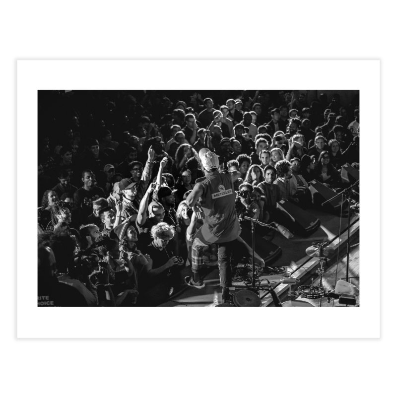 Anderson .paak at Art of Cool Festival Home Fine Art Print by Frank and Elizabeth Myers Photograpy