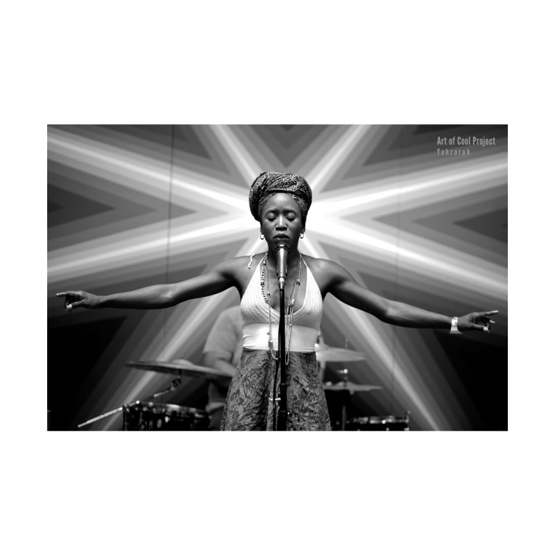 YahZarah St. James at Art of Cool Home Framed Fine Art Print by Frank and Elizabeth Myers Photograpy