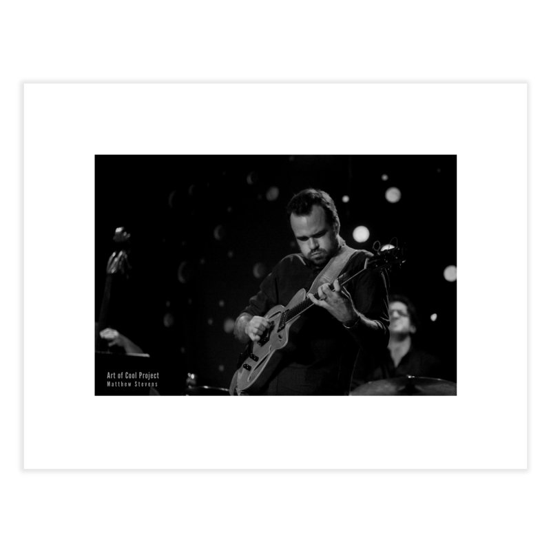 Matthew Stevens at Art of Cool Festival Home Fine Art Print by Frank and Elizabeth Myers Photograpy