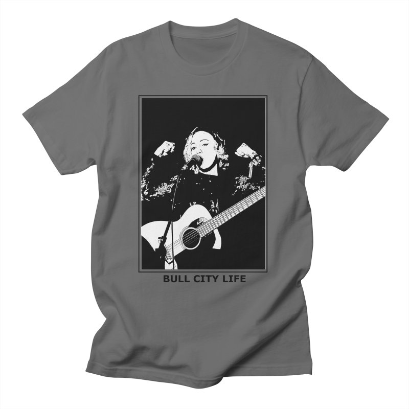 Bull City Life Laura Reed Men's T-Shirt by Frank and Elizabeth Myers Photograpy