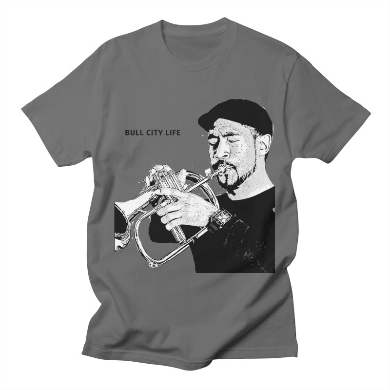 Bull City Life Al Strong Men's T-Shirt by Frank and Elizabeth Myers Photograpy