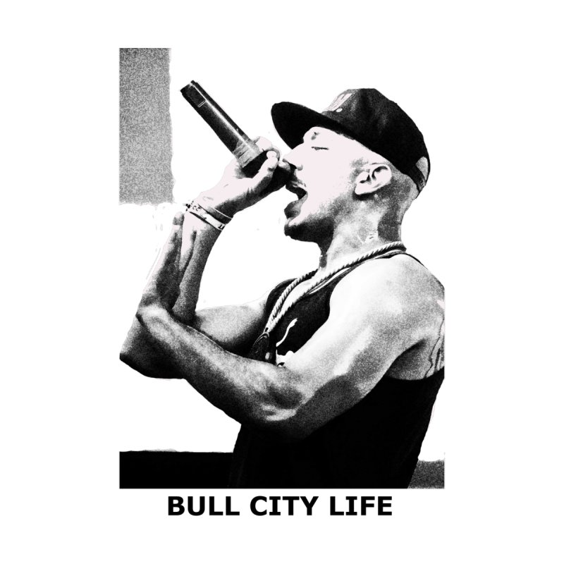 Bull City Life The Real Laww Men's T-Shirt by Frank and Elizabeth Myers Photograpy