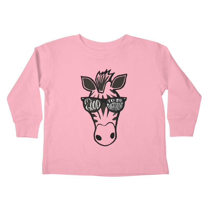 Good to be different Kids Toddler Longsleeve T-Shirt by Frank and Elizabeth Myers Photograpy
