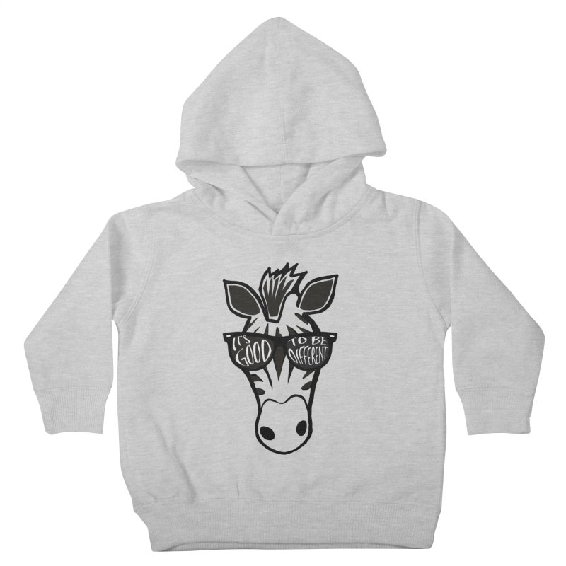 Good to be different Kids Toddler Pullover Hoody by Frank and Elizabeth Myers Photograpy