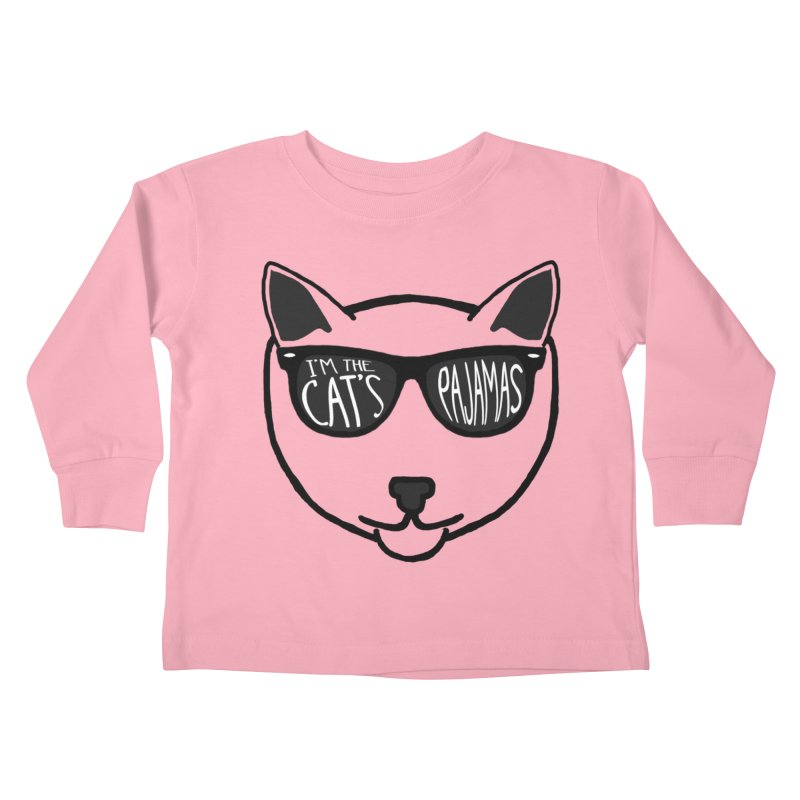 Cat's Pajamas Kids Toddler Longsleeve T-Shirt by Frank and Elizabeth Myers Photograpy