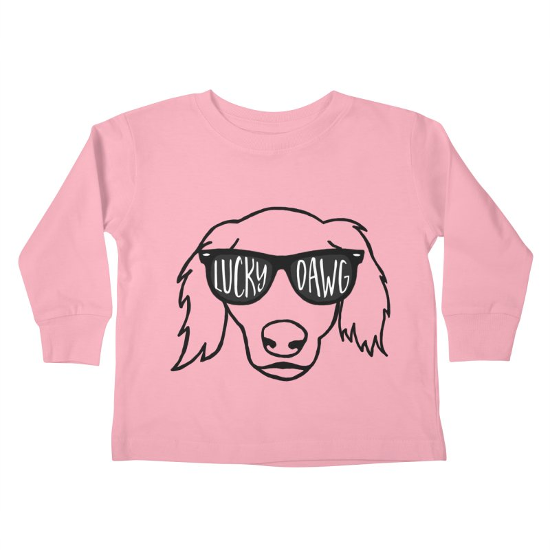Lucky Dawg Kids Toddler Longsleeve T-Shirt by Frank and Elizabeth Myers Photograpy