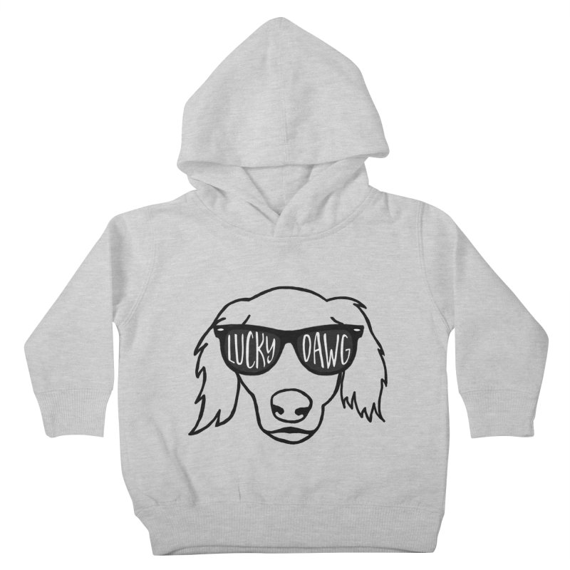 Lucky Dawg Kids Toddler Pullover Hoody by Frank and Elizabeth Myers Photograpy