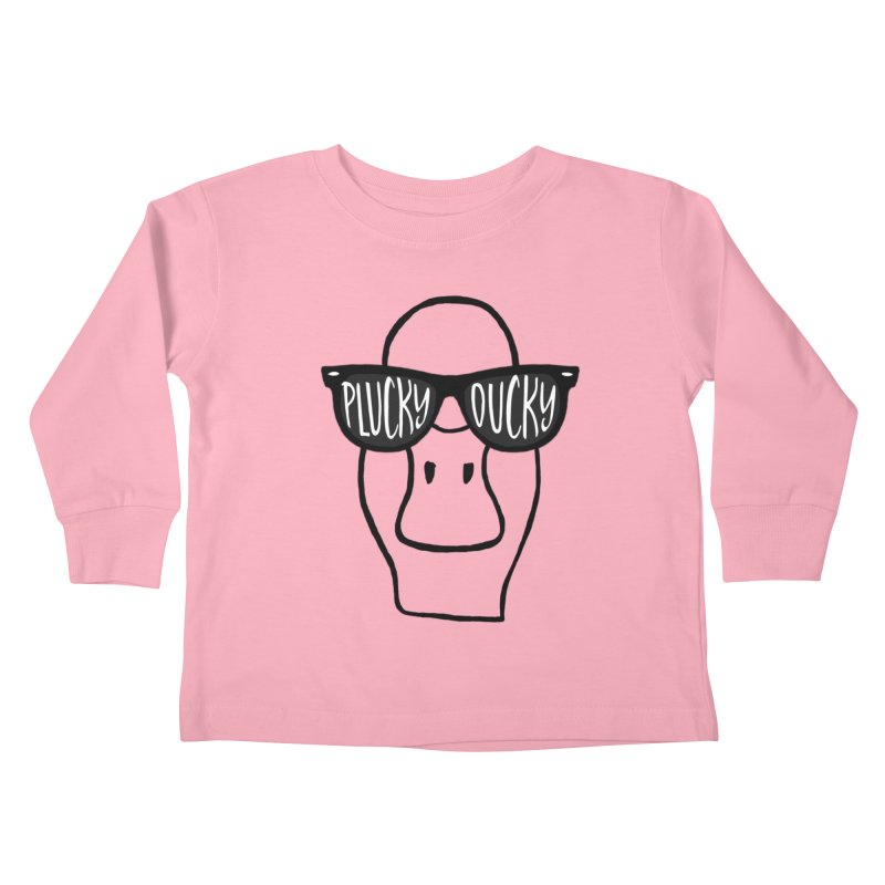 Lucky Ducky Kids Toddler Longsleeve T-Shirt by Frank and Elizabeth Myers Photograpy