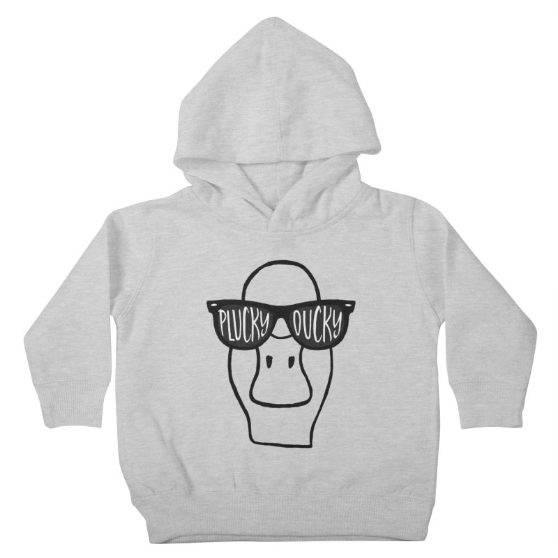 Lucky Ducky Kids Toddler Pullover Hoody by Frank and Elizabeth Myers Photograpy