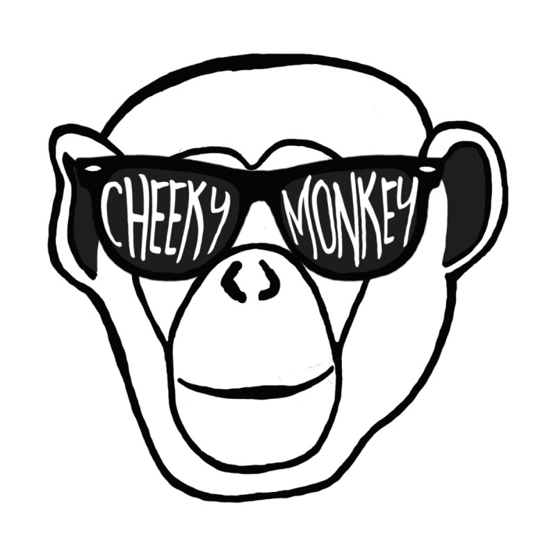 Cheeky Monkey Kids T-Shirt by Frank and Elizabeth Myers Photograpy